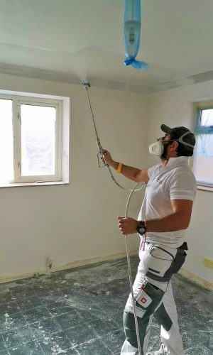 residential spray painting contractor